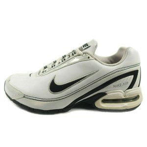 Nike Air Max Torch 3 White Leather Running Shoes